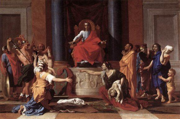 król salomon byłby dziś gwiazdą SEO ;)