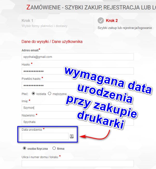 sklep-internetowy-pole-data-urodzenia